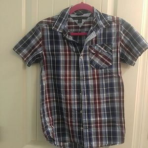 Boys button down Tommy Hilfiger shirt